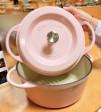 鋳物(いもの)ホーロー鍋「バーミキュラ」