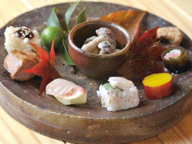新鮮な魚や野菜を使った 心づくしの本格和食を堪能