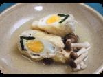 ママのお助けレシピ ほうれん草と卵の洋風信田煮