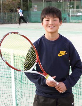 才能×努力スゴキッズ 関西テニス協会12歳以下 男子ランキング2位