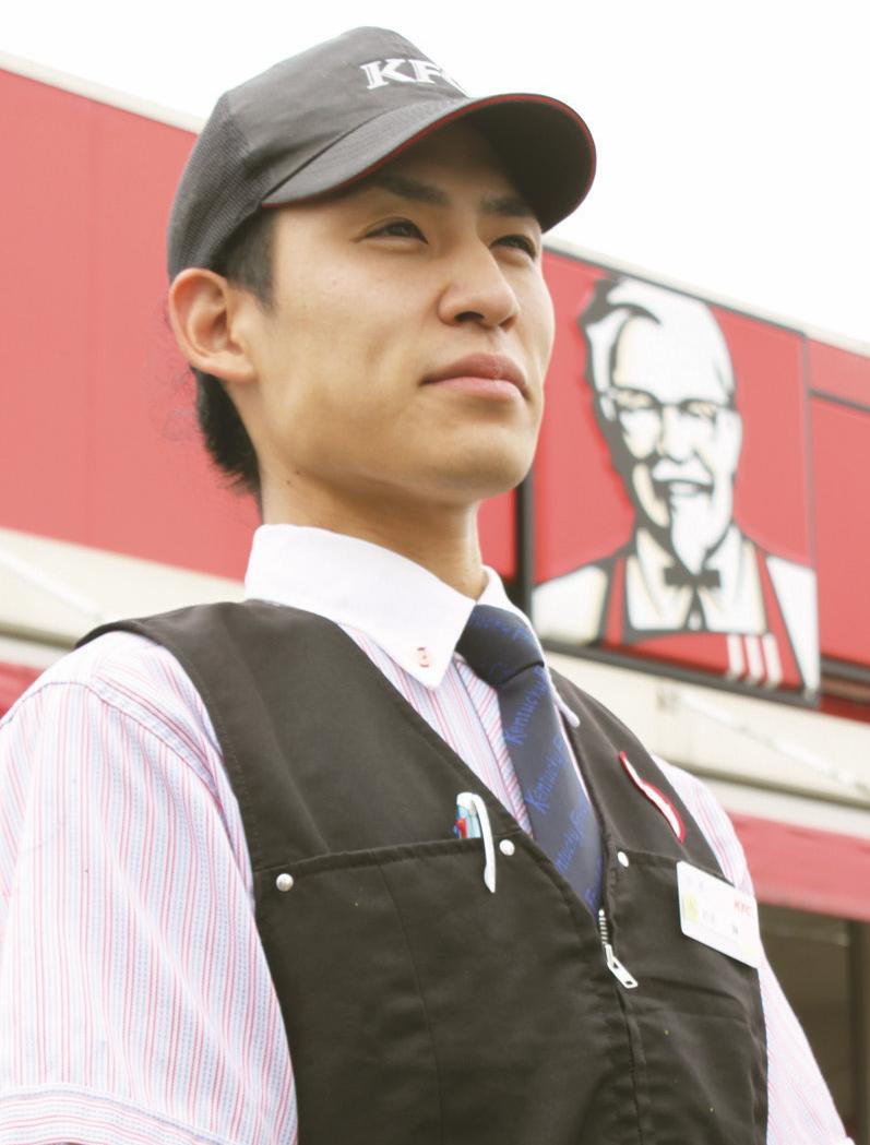 仕事に夢中 働き盛りの若き店長