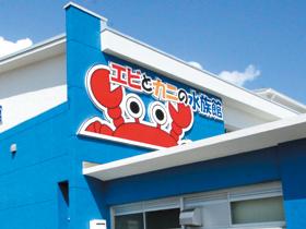 道の駅 すさみ敷地内に併設される「エビとカニの水族館」