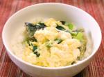 ママのお助けレシピ サンマと小松菜のふわふわ丼