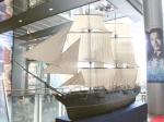 「海難1890」公開記念 エルトゥールル号模型展示