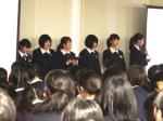 和歌山信愛高校で 地域課題に関する学習成果を発表
