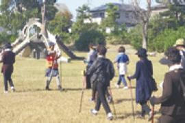 桜道ノルディックウォーキング体験・実践会