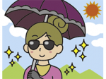 実は怖い日焼け 予防を心得て