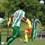 リーグ戦フル出場中の1人・高瀬龍舞選手。フィジカルの強さを見せました。