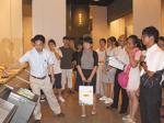 日高中・高が姉妹校と交流 中国・西安中の生徒が来和