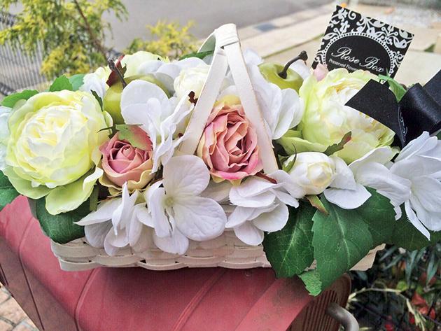 生花にはない質感と色彩が魅力 アーティフィシャルフラワーが学べるサロン