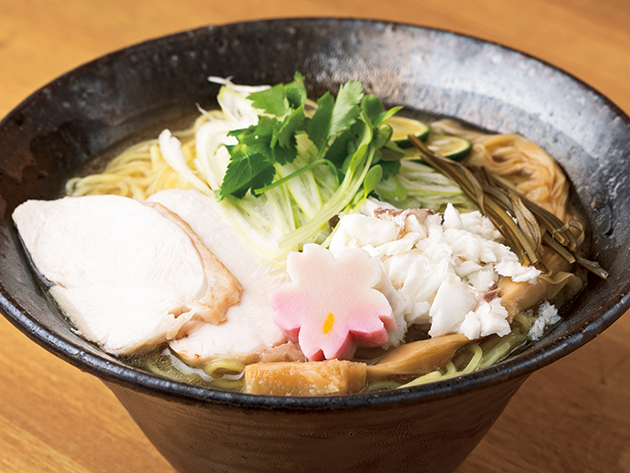 和歌山の食材にこだわる麺処 お酒と一緒に大人時間も楽しめる