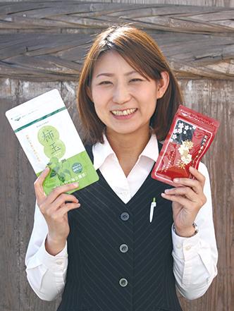 地元の特産物の健康商品で 元気と笑顔をサポート