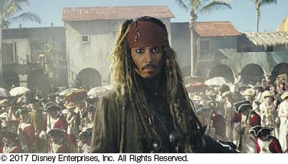パイレーツ・オブ・カリビアン 最後の海賊 7月1日(土)ロードショー ■ジストシネマ和歌山 ■イオンシネマ和歌山