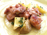 みそソムリエ宮本さんの味噌漬け春夏秋冬「鶏肉の金山寺みそ焼き」
