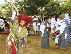第2回 椎出(しいで)鬼の舞 〜傘ほこの祭り〜