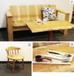 木の家具に囲まれて温かさを演出 時間とともに変わる、色・つやを楽しんで