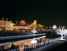 冬のポルトヨーロッパが舞台 関西最大級の光の祭典「フェスタ・ルーチェ」