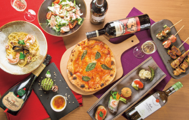 心地良い雰囲気の洋風居酒屋がオープン ピザにパスタ、創作串と多彩なメニュー