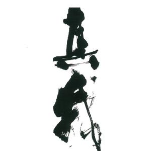 杉下聖巖・書の個展