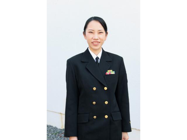 制服に憧れ海上自衛官に 3カ月限定で和歌山で任務を