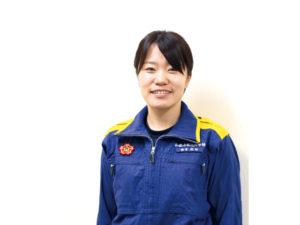 和歌山県消防学校 教官 松田 由香里さん