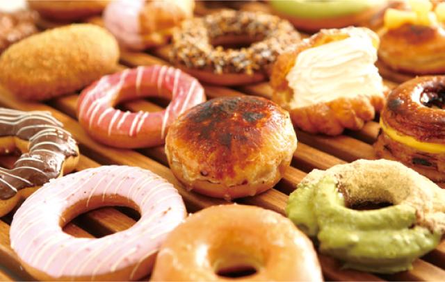 約30種類ものドーナツがずらり!<br>わくわくするラインアップの専門店