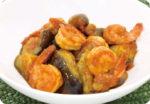 思わず食べちゃう!野菜がおいしくなるレシピ「ナスとエビのケチャップ炒め」