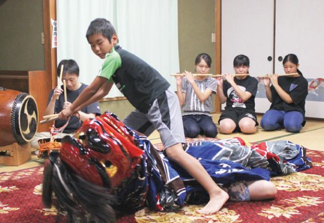 第9回 高芝の獅子舞 〜伊勢流の雄獅子〜