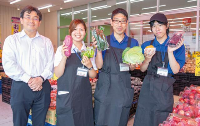 お得な業務用やオリジナル商品が人気<br>地域の人が毎日通える親しみやすい店