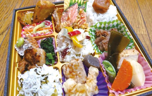 """""""おいしい、早い、安い""""の弁当が自慢<br>8月に地元食材を使った特注弁当が新登場"""
