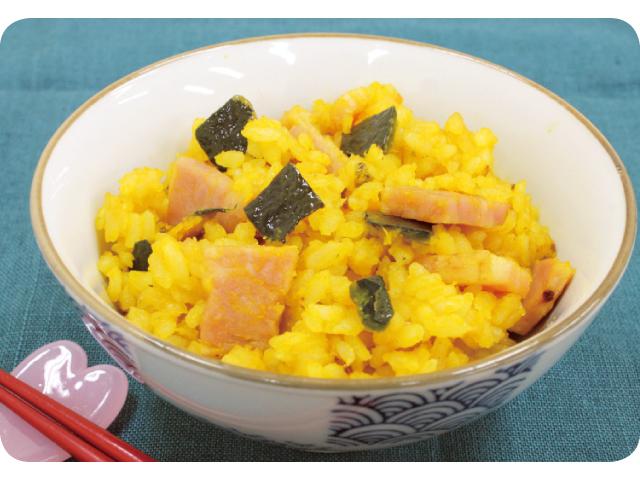 思わず食べちゃう!野菜がおいしくなるレシピ「カボチャの洋風炊き込みご飯」