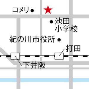 めっけもん広場map