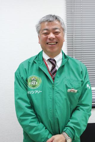 キリンビール和歌山支店 支店長・見澤保規さん