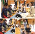 """楠見東小学校の6年生が、地域の親子と授業で交流 先生は""""赤ちゃん"""""""