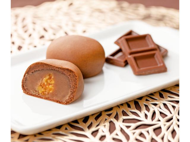 青木松風庵「和菓山チョコレート」