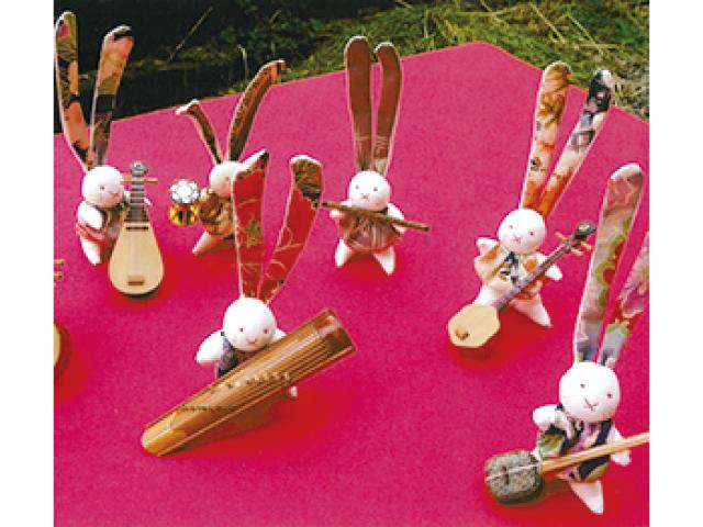 懐かしの古布人形展