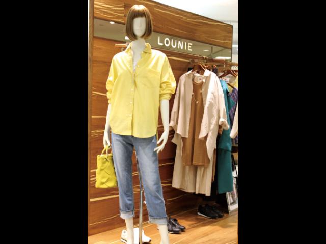 LOUNIE(ニールィ)リネンビッグシャツ