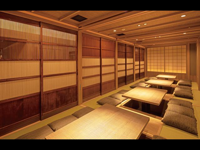 和歌山を代表する和の名店に2階席が登場 高級感あふれる空間は完全予約制