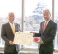 和歌山市など71校の新1年生に 「こうつうあんぜんてちょう」贈呈
