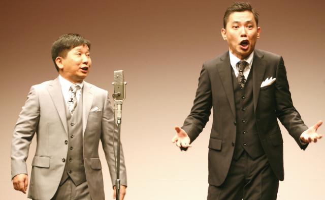 人気のタイタンライブを映画館で 爆笑問題の過激な新ネタ漫才を! 6月14日(金)午後7時半からジストシネマ和歌山で上演