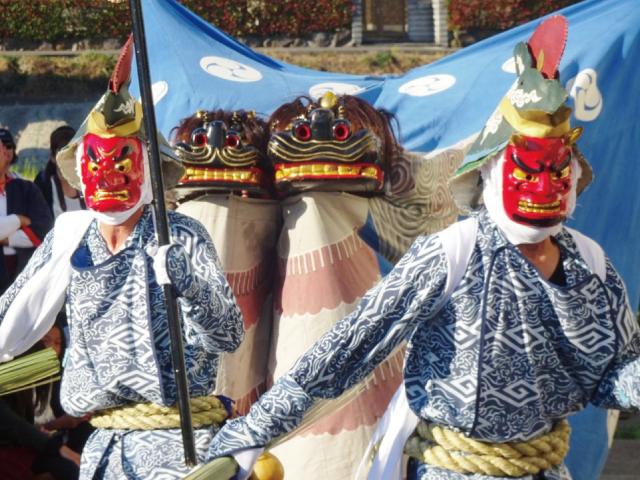第15回 土生祭 ~双頭獅子と奴~