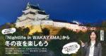 「Nightlife in WAKAYAMA」から冬の夜を楽しもう