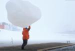 南極の仕事 高層気象観測 ④