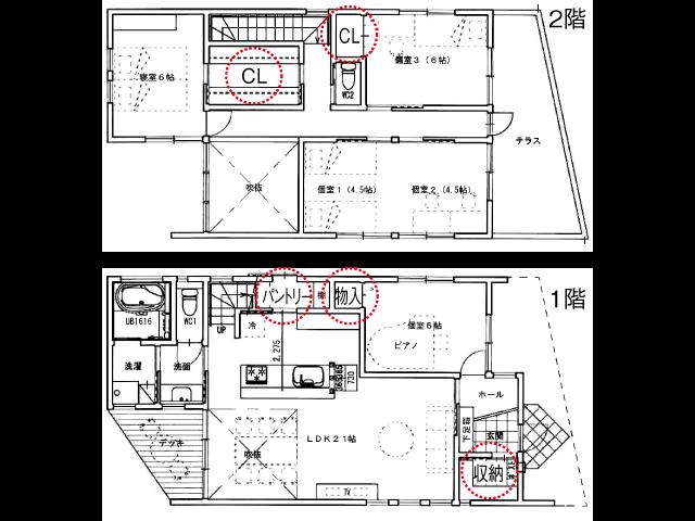 念願のマイホーム、家づくりで後悔しないために<br/>間取りより収納に不満 大きさよりも適材適所に配置を