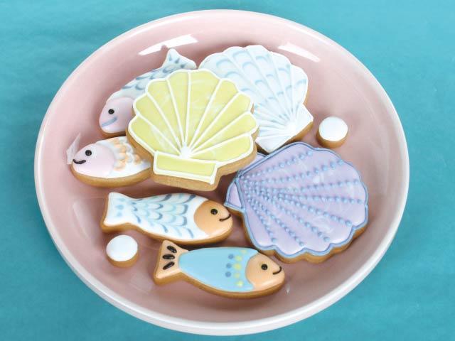 絵本に出てくる「これ!」食べたい  うみのさっくりアイシングクッキー