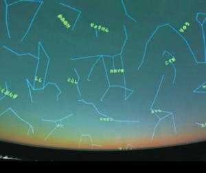 臨場感あふれる星空の映像
