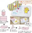 こぴちゃんの手作りおもちゃ 牛乳パックのコマ