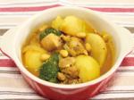 カブと鶏のヨーグルトカレー煮込み