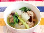 冬瓜(とうがん)と肉団子のスープ