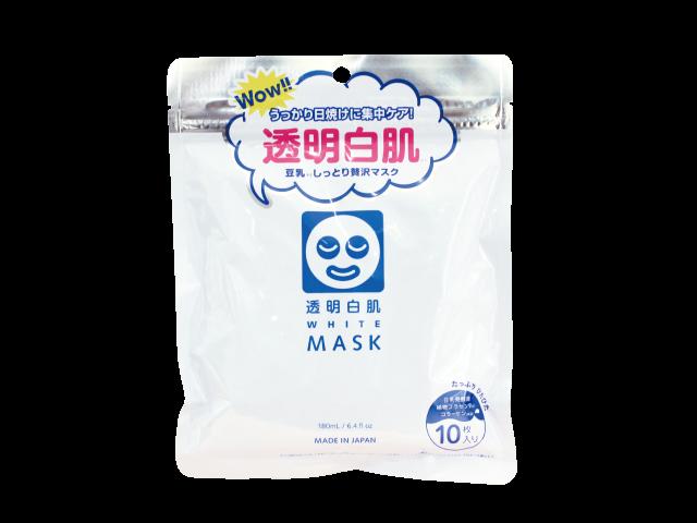 透明白肌ホワイトマスクN